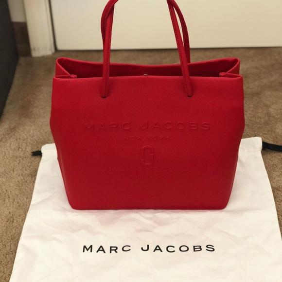 "e85b59f0db33 Marc Jacobs Logo Shopper ""East-West"" Tote"